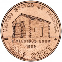 2009 Abraham Lincoln Bicentennial Birthplace Cent, Reverse - Click to Enlarge