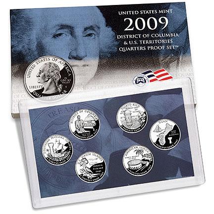 Puerto Rico 2009 State Proof Quarter U.S Mint Territory Quarters Box COA D.C