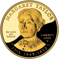 2009 Margaret Taylor First Spouse Gold Coin, Obverse - Click to Enlarge