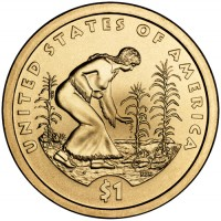 2009 Native American Coin, Reverse - Click to Enlarge