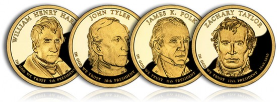 2009 Proof Presidential Dollars - Click to Enlarge