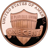 2010 Lincoln Proof Cent Reverse