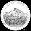 2010 Mount Hood Quarter Candidate OR-01 (Click to Enlarge)