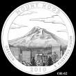 2010 Mount Hood Quarter Candidate OR-02 (Click to Enlarge)