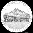 2010 Mount Hood Quarter Candidate OR-03 (Click to Enlarge)