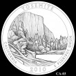 2010 Yosemite Quarter Candidate CA-03 (Click to Enlarge)