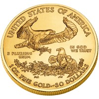 2010 American Eagle Gold Bullion Coin, Reverse - Click to Enlarge