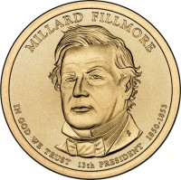 2010 Millard Fillmore Presidential $1 Uncirculated Coin
