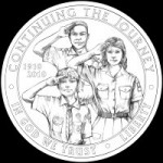 Boy Scouts Obverse Coin Design CFA Favored BSA-O-04 - Click to Enlarge