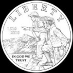 Boy Scouts Obverse Coin Design CFA Favored BSA-O-06 - Click to Enlarge