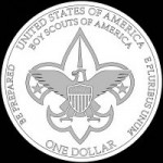 Boy Scouts Reverse Coin Design CFA Favored BSA-R-05 - Click to Enlarge
