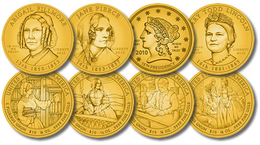2010 First Spouse Gold Coins