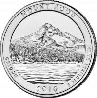 Mount Hood National Forest Quarter
