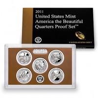 2011 America the Beautiful Quarters Proof Set (US Mint image)
