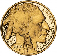 2011 American Buffalo Gold Proof Coin (Obverse) 2010 Version Shown, US Mint image