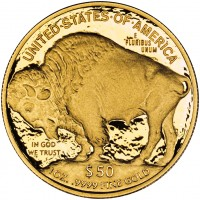 2011 American Buffalo Gold Proof Coin (Reverse), US Mint image
