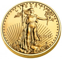 2011 American Eagle Gold Bullion Coin (Obverse), US Mint image