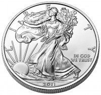 2011 American Eagle Silver Bullion Coin (Obverse), US Mint image