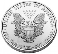 2011 American Eagle Silver Bullion Coin (Reverse), US Mint image
