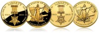 2011 Medal of Honor $5 Gold Coins (US Mint images)