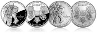 2011 Medal of Honor Silver Dollars (US Mint images)