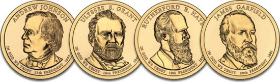 2011 Presidential $1 Uncirculated Coins