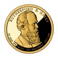 2011 Rutherford B. Hayes Presidential $1 Coin (Obverse), US Mint image