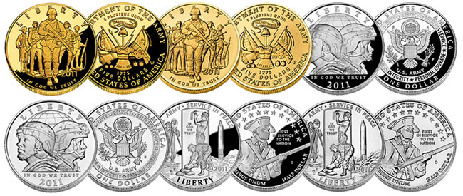 united states army commemorative coins us coins