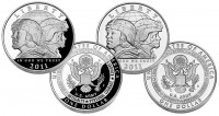 2011 US Army Silver Dollars (Proof and Uncirculated)