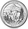 2011 Glacier 5 oz Silver Coins