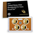 2011 Presidential Dollar Coin Proof Set