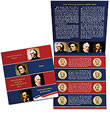 2011 Presidential Dollar Coin Uncirculated Set