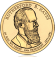 Rutherford B. Hayes Presidential $1 Coin