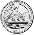 2011 Vicksburg 5 oz Silver Coins