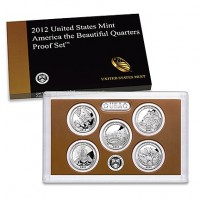 2012 America the Beautiful Quarters Proof Set (US Mint image)
