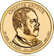 Chester Arthur Presidential $1 Coin