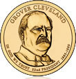 Grover Cleveland (First Term) Presidential $1 Coin
