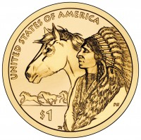 2012 Native American $1 Coin, Reverse (US Mint image)