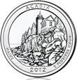 Acadia 5 oz Silver Coins