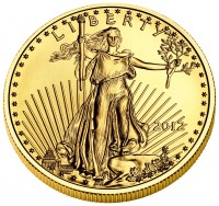 American Eagle Gold Coin (Obverse) (US Mint image)