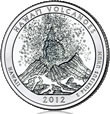 Hawaii Volcanoes Quarter