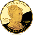 Julia Grant First Spouse Gold Coin