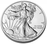 2011-W American Eagle Silver Uncirculated Coin