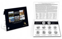 2012 America the Beautiful Quarters Uncirculated Ten-Coin Set