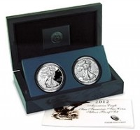 2012 American Silver Eagle San Francisco Two-Coin Set