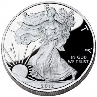 2012 Proof American Silver Eagle (US Mint image)