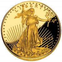 One-Ounce 2012 Proof American Eagle Gold Coin