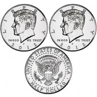 2012 Kennedy Half-Dollar (US Mint image)