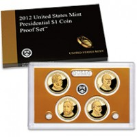 2012 United States Mint Presidential $1 Coin Proof Set™ (US Mint image)