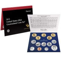 2012 United States Mint Uncirculated Coin Set® (US Mint image)